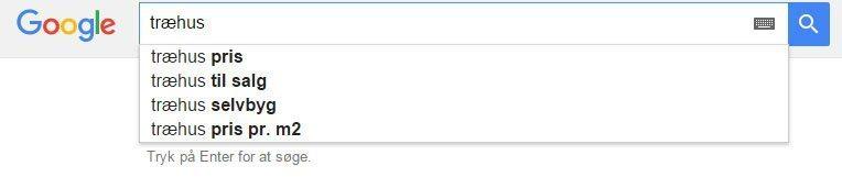 Sådan kan du bruge Google autocomplete