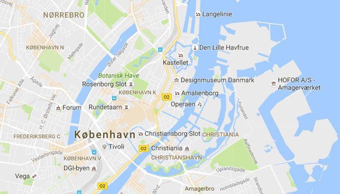 Først skal du gå ind på Google Maps