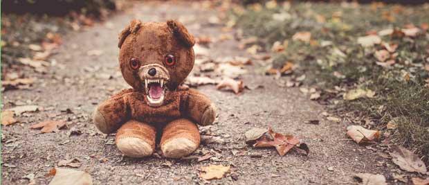 Gratis billede af bamse der viser tænder