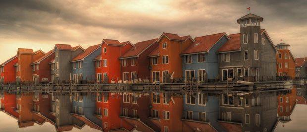 Gratis billede af huse