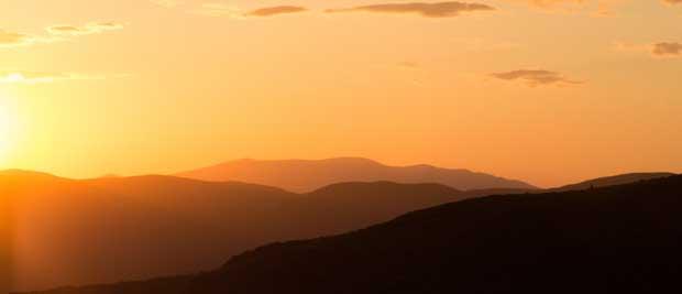 Gratis billede af solopgang