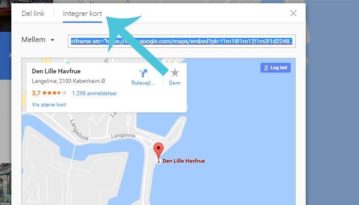 Sadan Kan Du Saette Et Google Kort Pa Din Hjemmeside Frumik