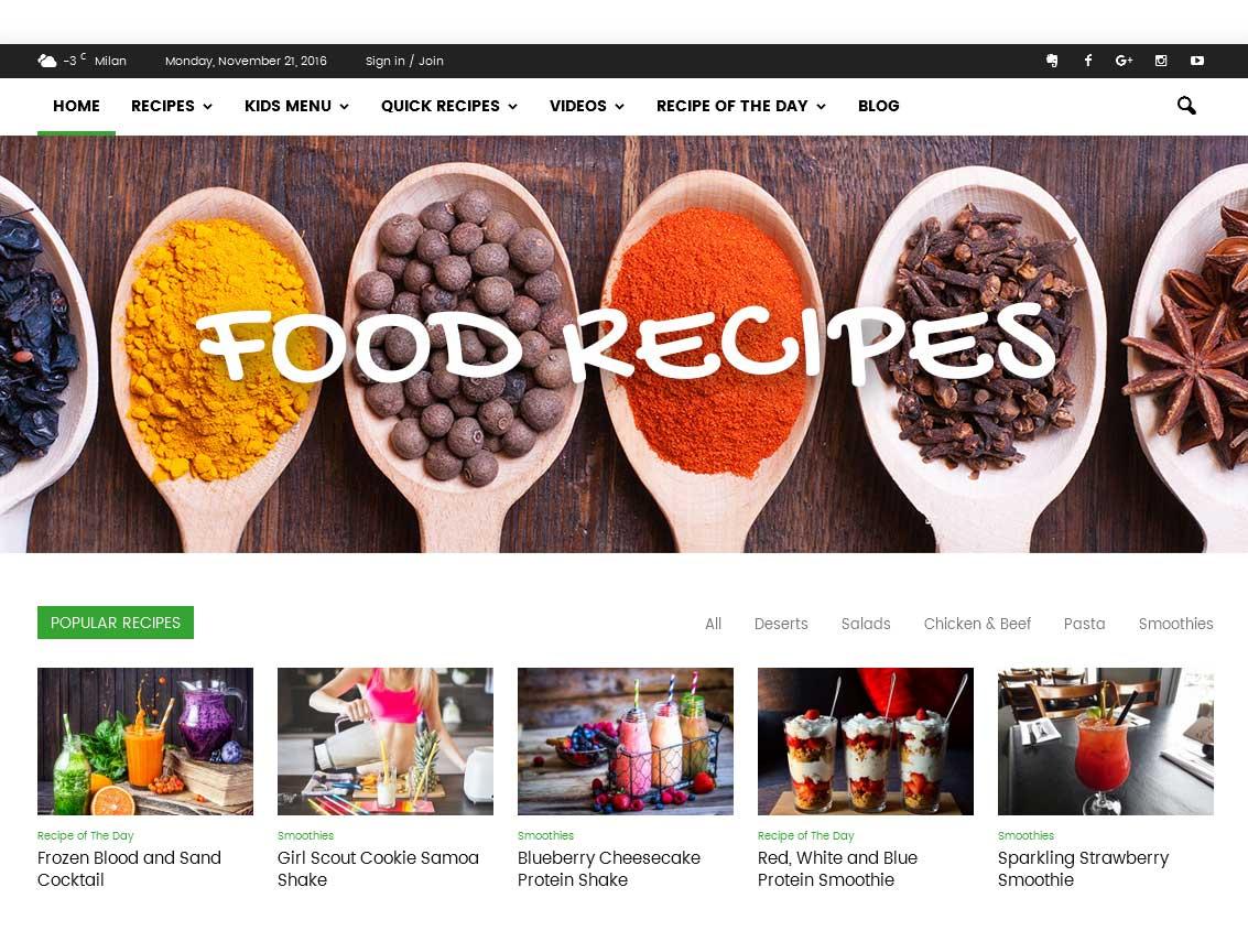 Newspaper er et populært premium WordPress tema til online magasiner
