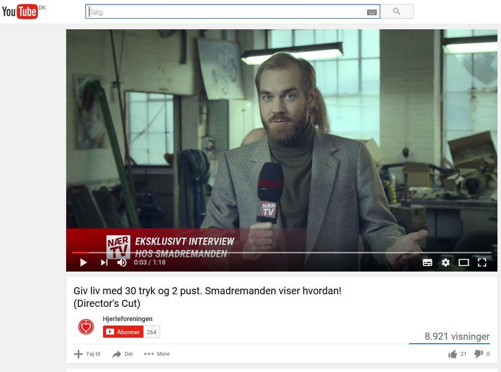 Først skal du finde en video på YouTube